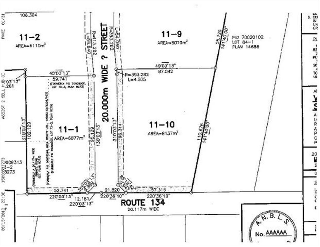Lot 11-1 Rte 134 (1.5 Acres), Shediac Cape, NB E4P 3