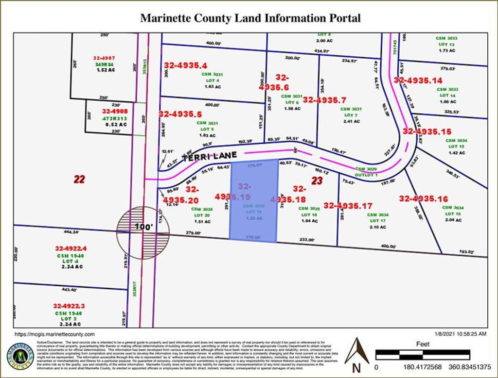 Lot 19 Terri Lane, Crivitz, WI, 54114 is for sale - $19,000